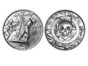 叛變者高浮雕銀幣2盎司