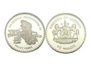 1982美國華盛頓兩百五十周年誕辰珍藏幣