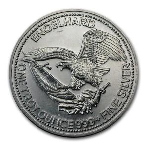 1985EngleHard銀幣1盎司