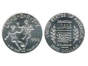 1994美國世界盃足球珍藏幣