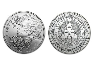 2017自由女孩銀幣1盎司