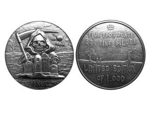 2017死神高浮雕銀章5盎司