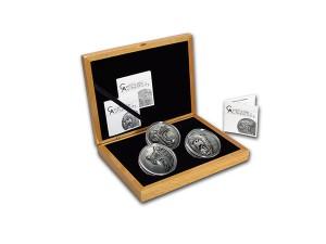 2015-2017庫克群島北美捕食者系列3銀幣6盎司
