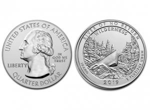 2019美國不歸路河原野銀幣5盎司