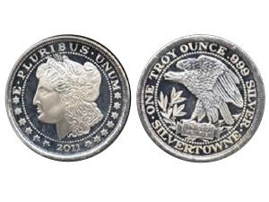 2011摩根美元設計銀幣1盎司