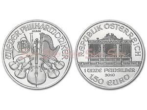 2010維也納愛樂銀幣1盎司