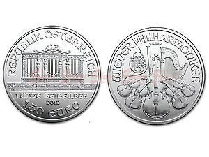2012維也納愛樂銀幣1盎司