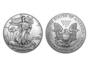 2001美國鷹揚銀幣1盎司