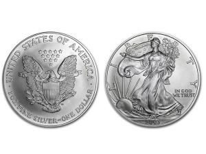2003美國鷹揚銀幣1盎司