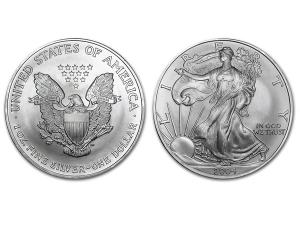 2004美國鷹揚銀幣1盎司