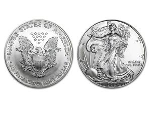 2005美國鷹揚銀幣1盎司