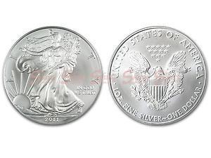 2011美國鷹揚銀幣1盎司