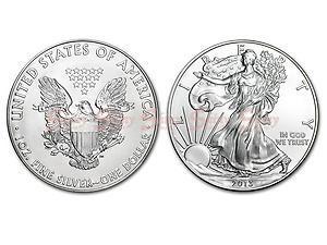 2013美國鷹揚銀幣1盎司