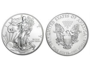 2014美國鷹揚銀幣1盎司