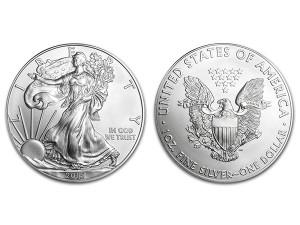2015美國鷹揚銀幣1盎司