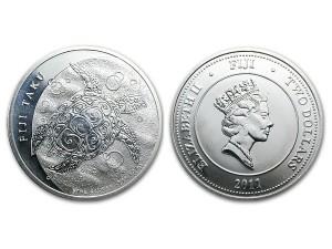 2011玳瑁海龜銀幣1盎司