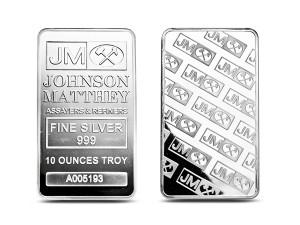 Johnson銀條10盎司
