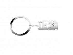 名字訂製純銀鑰匙圈產品圖