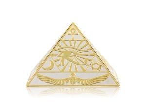 炫麗金字塔(Ag.999)-荷魯斯之眼-實心10盎司