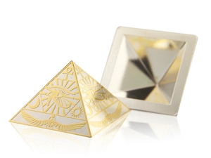 炫麗金字塔(Ag.999)-荷魯斯之眼空心5盎司