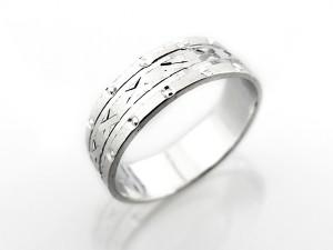 國王專屬銀戒指