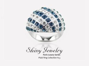 貝款紋設計戒指