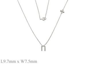 馬蹄鐵   純銀項鍊