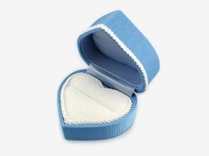 心型蕾絲戒盒(2色)