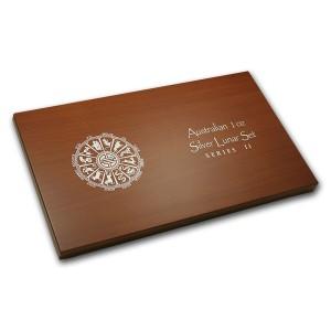 生肖系列II(1盎司銀幣)12入木盒