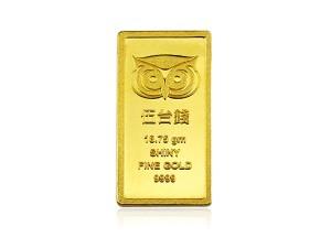 炫麗咕咕招財金條5錢(.9999)