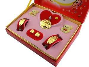 黃金滿月禮盒-吉祥寶貝