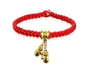 編織手環+黃金串飾-手帕之交