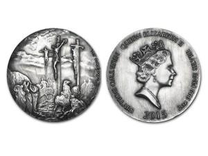 Scottsdale聖經系列銀幣2盎司 (Crucifixion)