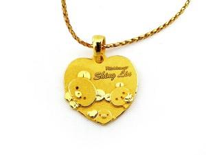 客製黃金墜飾
