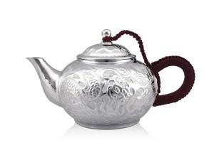 手作工藝-平嘴茶壺