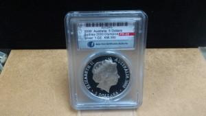 2000澳洲雪梨奧運紀念銀幣1盎司族群融合精裝ACCA鑑定盒封版-PR68