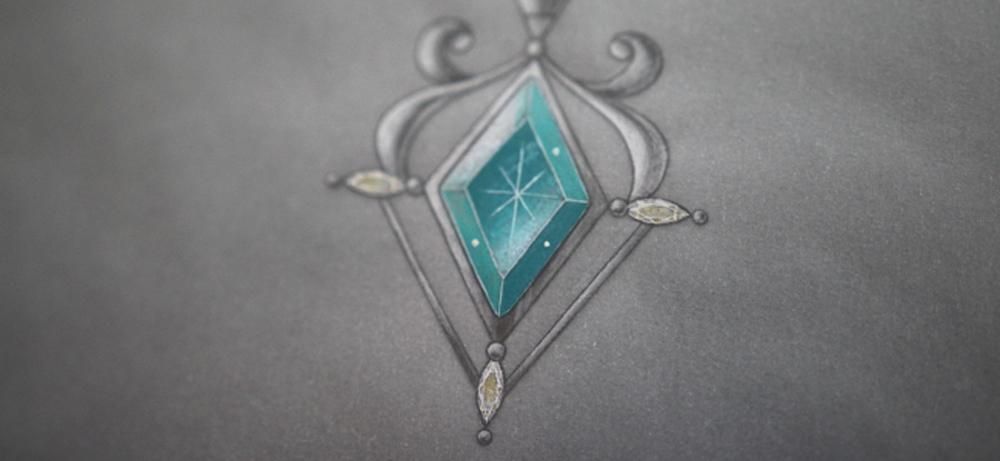 OS珠寶設計作品-若紫